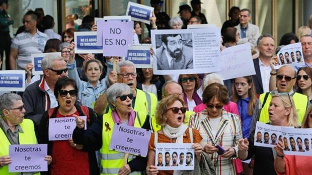 Protestas contra la sentencia de «La Manada»
