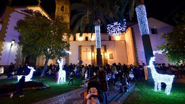 Alumbrado navideño en Pozoblanco