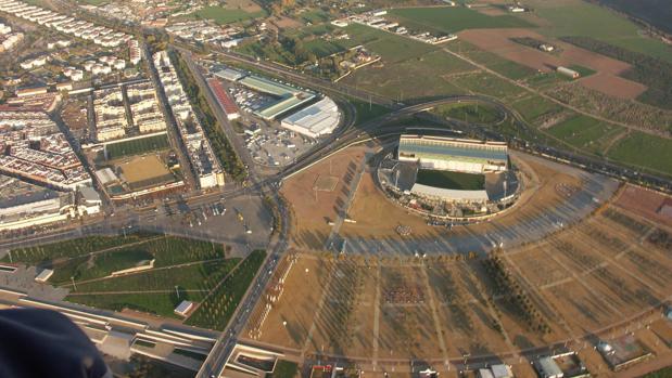 El estadio municipal El Arcángel está en la zona del Plan Especial del Arenal