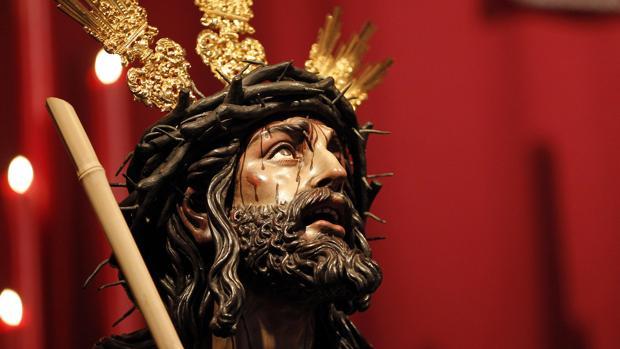 Imagen de Nuestro Padre Jesús de la Coronación de Espinas de Córdoba, de la hermandad de la Merced