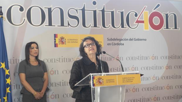 Rafaela Valenzuela, este 5 de diciembre en la Subdelegación del Gobierno