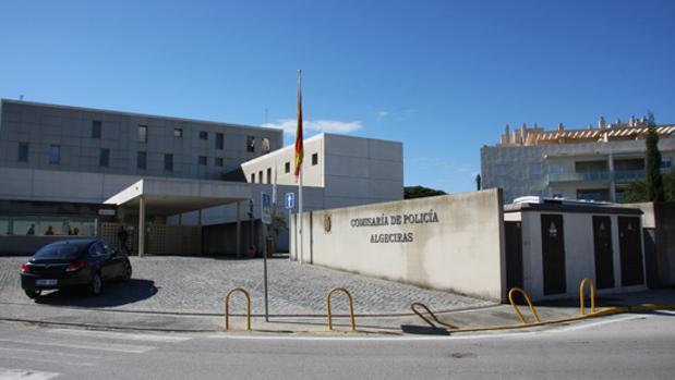 Imagen de la comisaría del Cuerpo Nacional de Policía de Algeciras
