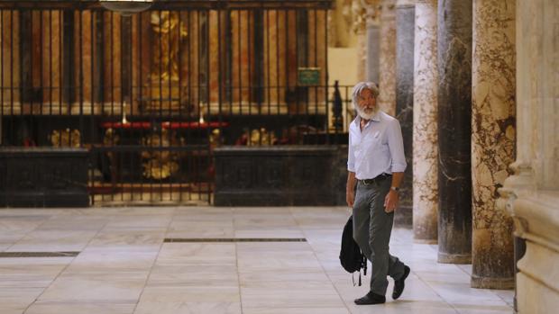 El actor Harrison Ford visitó en 2016 la Mezquita-Catedral con su esposa, Calista Flockhart