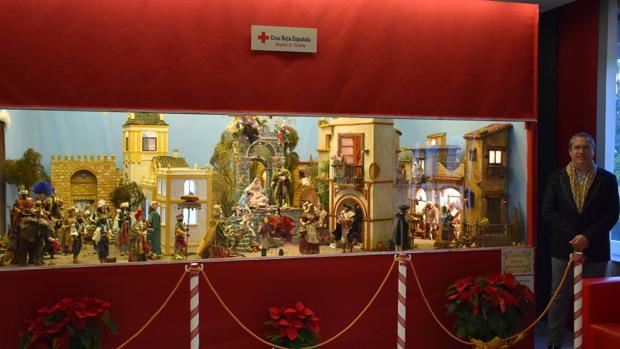 Belén, instalado en el Hospital de la Cruz Roja de Córdoba