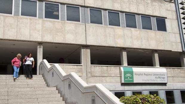 Hospital Materno, donde la niña ingresó sin vida
