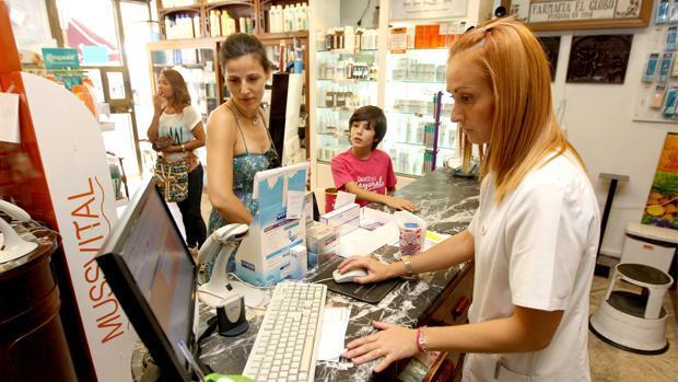 Una farmacia andaluza