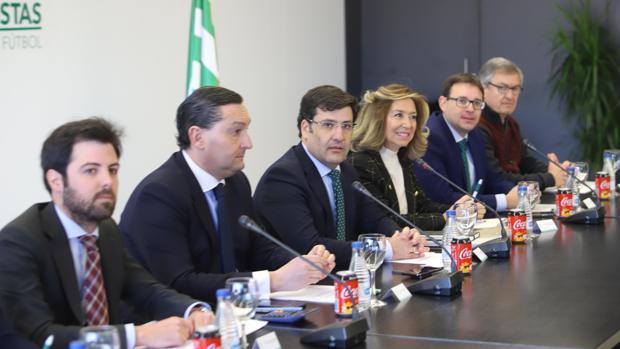 El Consejo del Córdoba, en la Junta