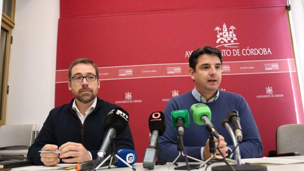 Jesús Ligero y Pedro García, responsables de Turismo