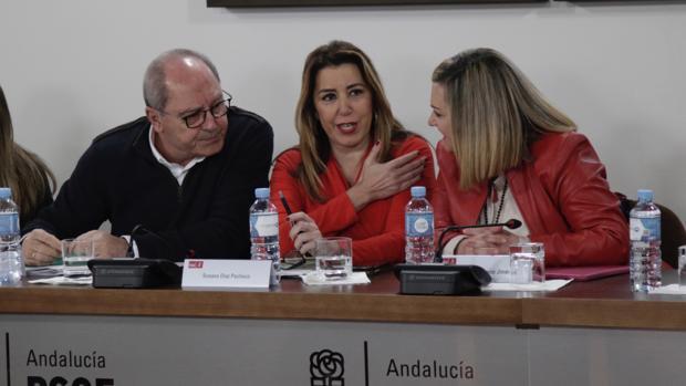 Susana Diaz, hoy en la Comisión Ejecutiva Regional del PSOE
