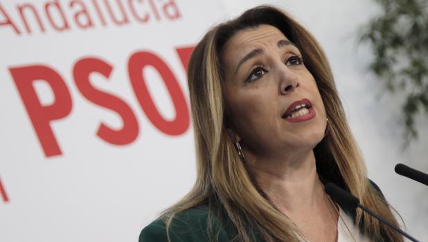La líder del PSOE de Andalucía en una imagen de archivo