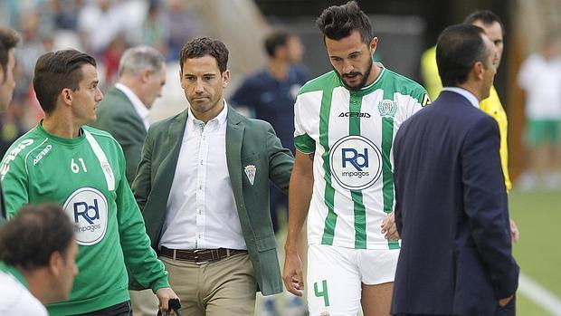 Javier Bejarano acompañando a Rodas hace dos temporadas