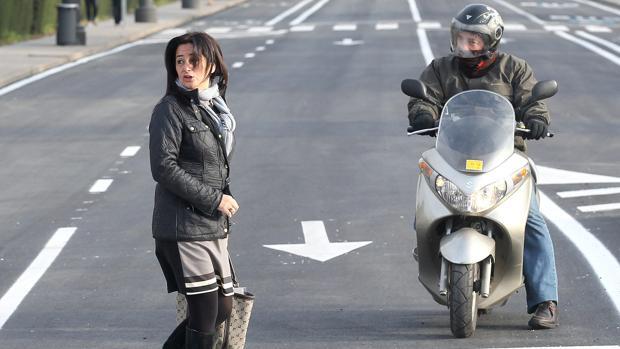 Ana Tamayo, en su etapa de concejala