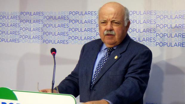 El nuevo consejero de Salud, Jesús Aguirre
