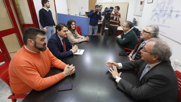 Bellido, este lunes con agentes sociales en las dependencias del PP en el Ayuntamiento