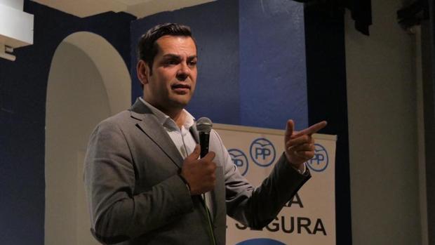 Juan Diego Requena, presidente del PP de Jaén
