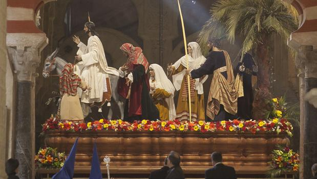 Misterio de Nuestro Padre Jesús de los Reyes en su Entrada Triunfal en Jerusalem
