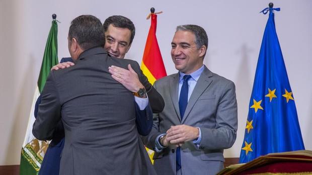 Toma de posesión de los nuevos delegados provinciales del gobierno de la Junta de Andalucía