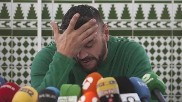 David Serrano en rueda de prensa