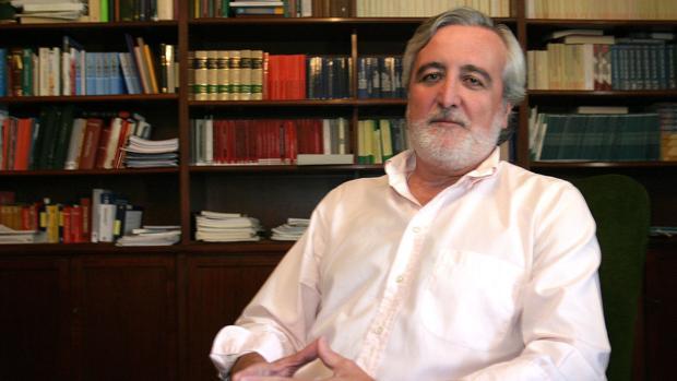 El juez Juan Ramón Berdugo en una entrevista con ABC