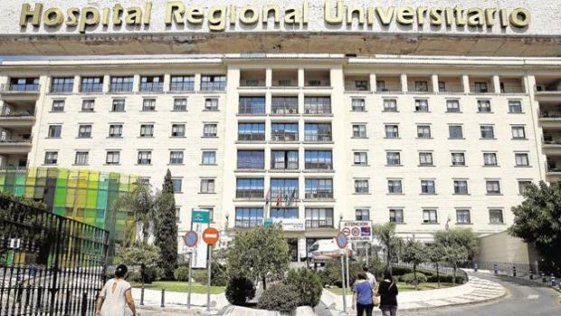 Hospital Regional de Málaga, donde se ha producido el problema