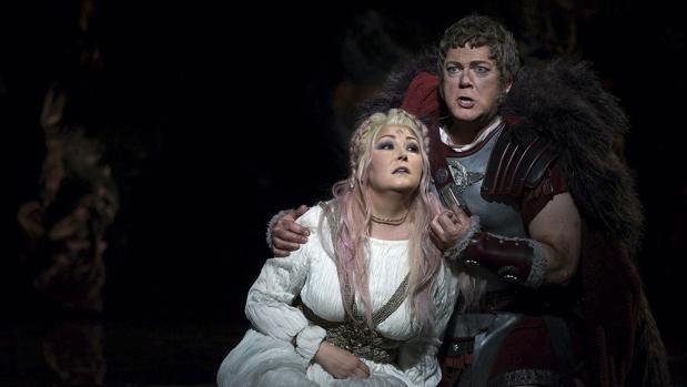 Gregory Kunde, que encarnará a Otello, durante una representación de una ópera