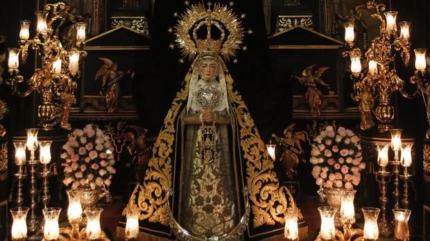Nuestra Señora Madre de Dios en sus Tristezas, titular mariana de la cofradía de Ánimas de Córdoba