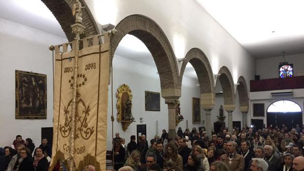 Momento de las anteriores misiones de la hermadnad del Rocío a la parroquia de San José y Espíritu Santo