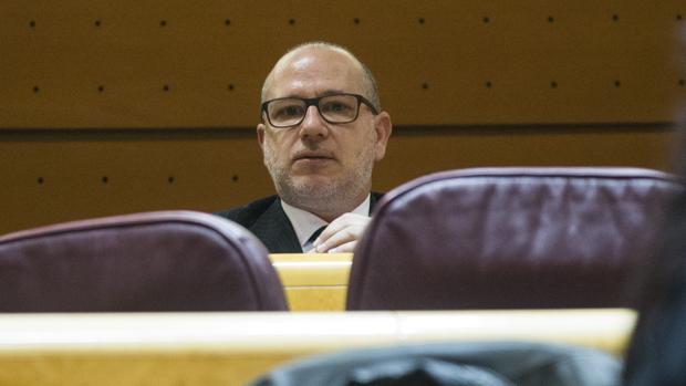 Francisco José Alcaraz, senador de Vox