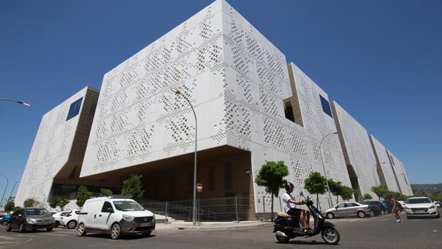 Edificio de la Ciudad de la Justicia en Córdoba