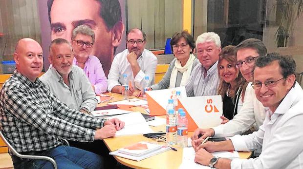 Junta directiva de Ciudadanos Córdoba, elegida en 2017