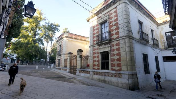 Palacete de los Burgos, donde iba a ubicarse el hotel de Mercer