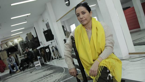 Eva Yerbabuena se considera una persona severa y estricta en su trabajo