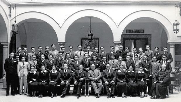 Promoción de alumnos del instituto Aguilar y Eslava de Cabra