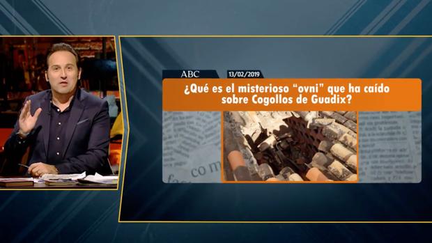 Cuarto Milenio investiga el extraño OVNI de Cogollos de Guadix