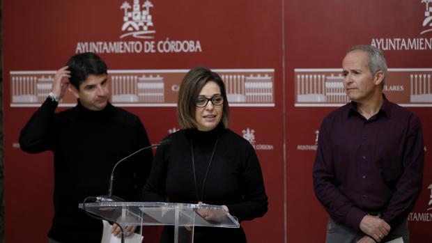 García, Ambrosio y Blázquez, en el Ayuntamiento