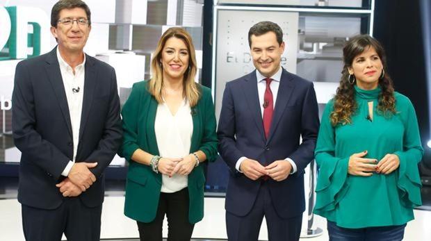 Marín, Dïaz, Moreno y Rodríguez