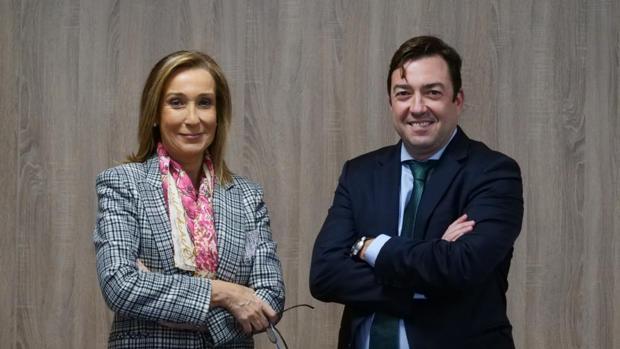 José Luis Iglesias e Inmaculada Fernández-Martos