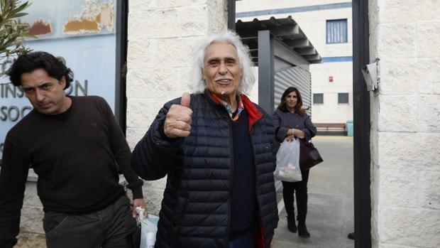 Rafael Gómez tras salir de prisión el pasado 4 de marzo