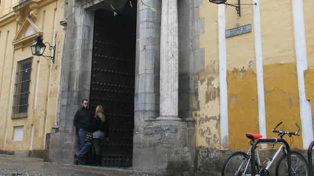 Entrada a la Facultad de Filosofía de Córdoba