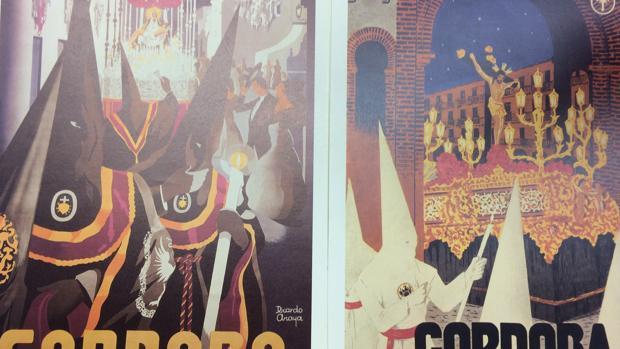 Carteles de la Semana Santa de Córdoba de 1953 y 1972, de Ricardo Anaya