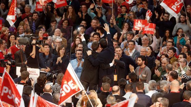 Público en un mitin del PSOE