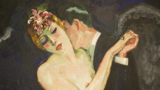 Pintura de la exposición «Perversidad. Mujeres fatales en el arte moderno (1880-1950)