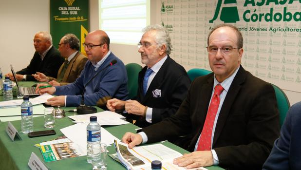 Asamblea general de la patronal agraria Asaja Córdoba