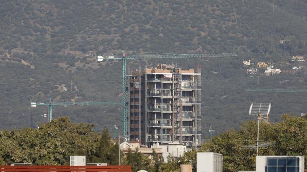 Construcción de la Torre del Agua en Córdoba
