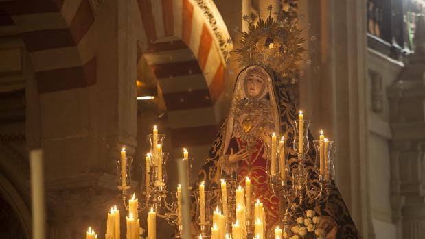 Nuestra Señora de los Dolores, en la Catedral de Córdoba