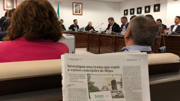 El pleno de Mijas aprobó llevar la auditoría al Ayuntamiento