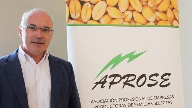 Antonio Jiménez, presidente de la Asociación Profesional de Empresas Productoras de Semillas Selectas (Aprose)