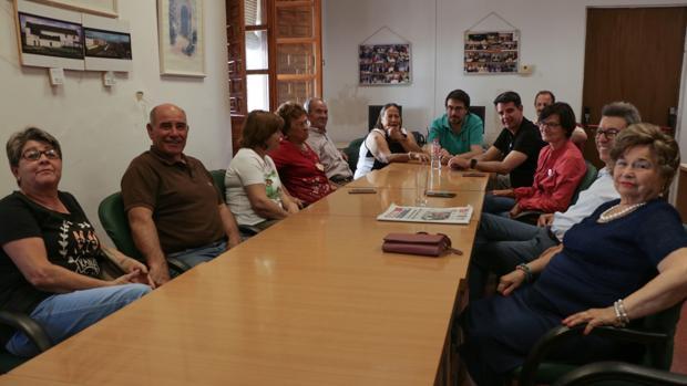 Reunión de la candidatura de IU con las barriadas periféricas