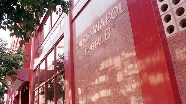 Sede de los juzgados en el edificio Viapol
