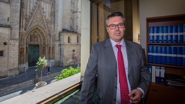 Alberto Pérez Rozos, coordinador del Plan Andaluz de Radioterapia